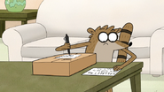 S5E01.065 Rigby Writing Down the Address