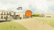 S5E10.109 God of Basketball Spots Rigby's Basketball