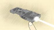 S6E16.073 Picture of the Universal Remote