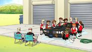 S7E21.049 The Class Washing Jablonski's Car