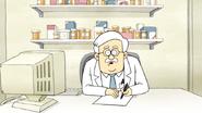S4E25.034 The Pharmacist Overhears the Test