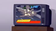 S7E04.102 The Van Crashing Live on TV