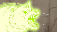 S4E32.108 Ghost Wolf Growling