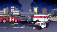 S7E04.111 The Police and Firefighters at the Scene