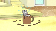 S03E16.064 The Phone Lands In Coffee