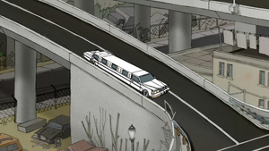 S4E21.097 The Limo Driving Off the Freeway