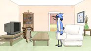 S3E34.048 Mordecai Frustrated They Can't Find the Tape