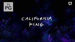 S7E24 California King Title Card