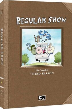 RegularShow Complete S3 DVD