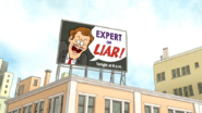 S5E28.009 Expert or Liar! Billboard