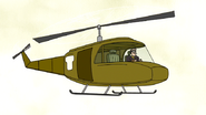 S5E12.185 Frank Piloting His Helicopter