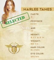 Marlee Tames Info Photo