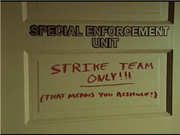 Strike Team HQ room