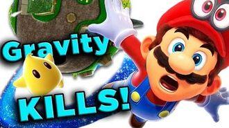 Super Mario Galaxy's DEADLY Physics! The SCIENCE! ...of Super Mario Galaxy