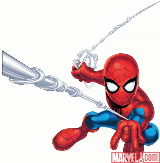 spider-man Join forces with this voice interactive Spider-Man and enter the Marvel Universe like never before. The tech in this immersive and intelligent Spidey empowers you to be his heroic ally.