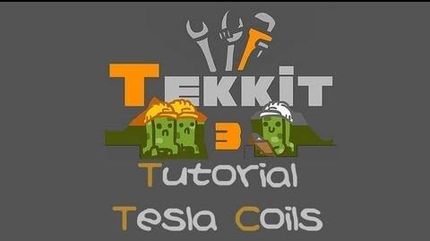 TEKKIT Tutorials Tesla Coil