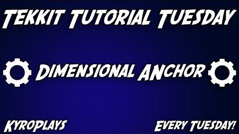 Dimension Anchor Tutorial Tekkit