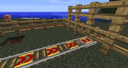 Rail gated screenshot