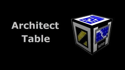 Architect Table - Buildcraft In Less Than 90 Seconds