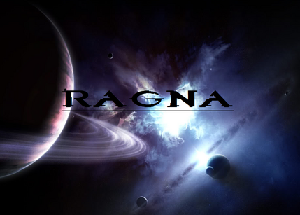 Ragna title screen