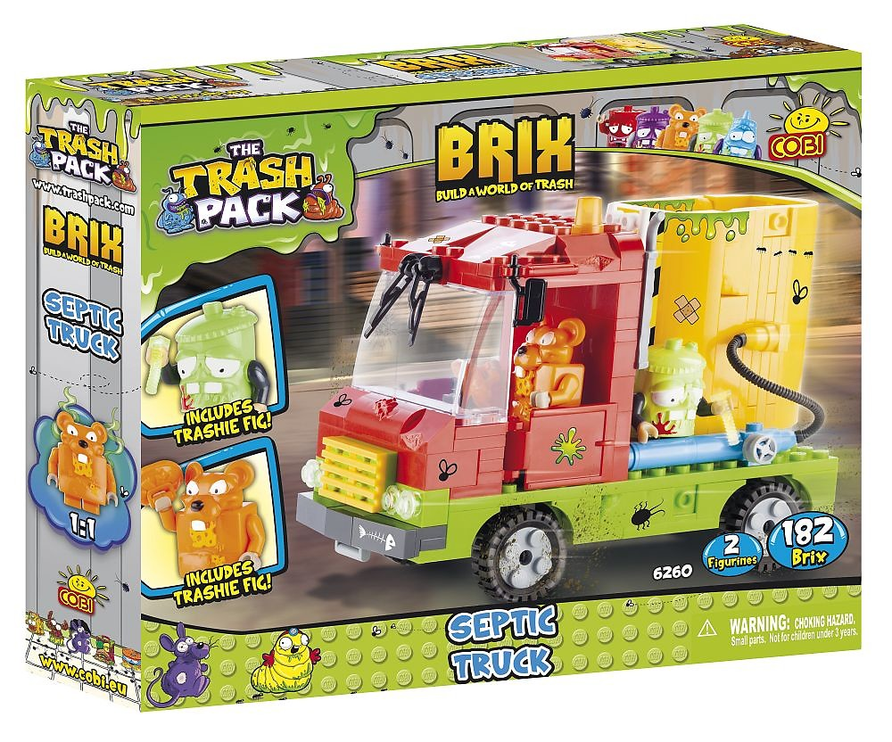 The Trash Pack Construction Brix The Trash Pack Wiki