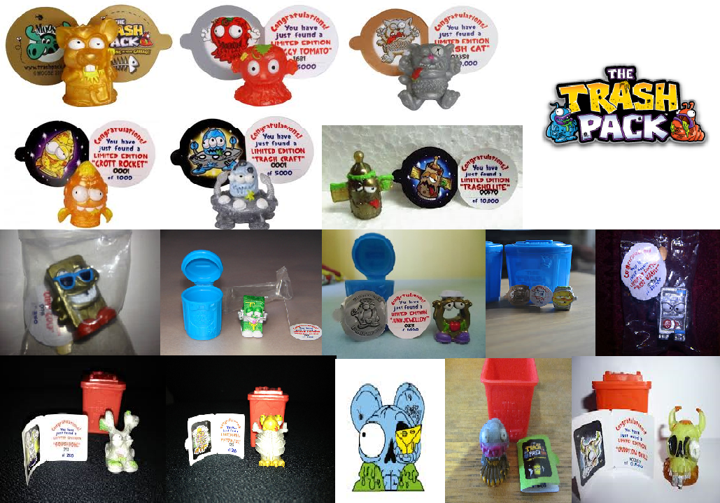 Trash Pack Limited Editions 5 Edition Plop