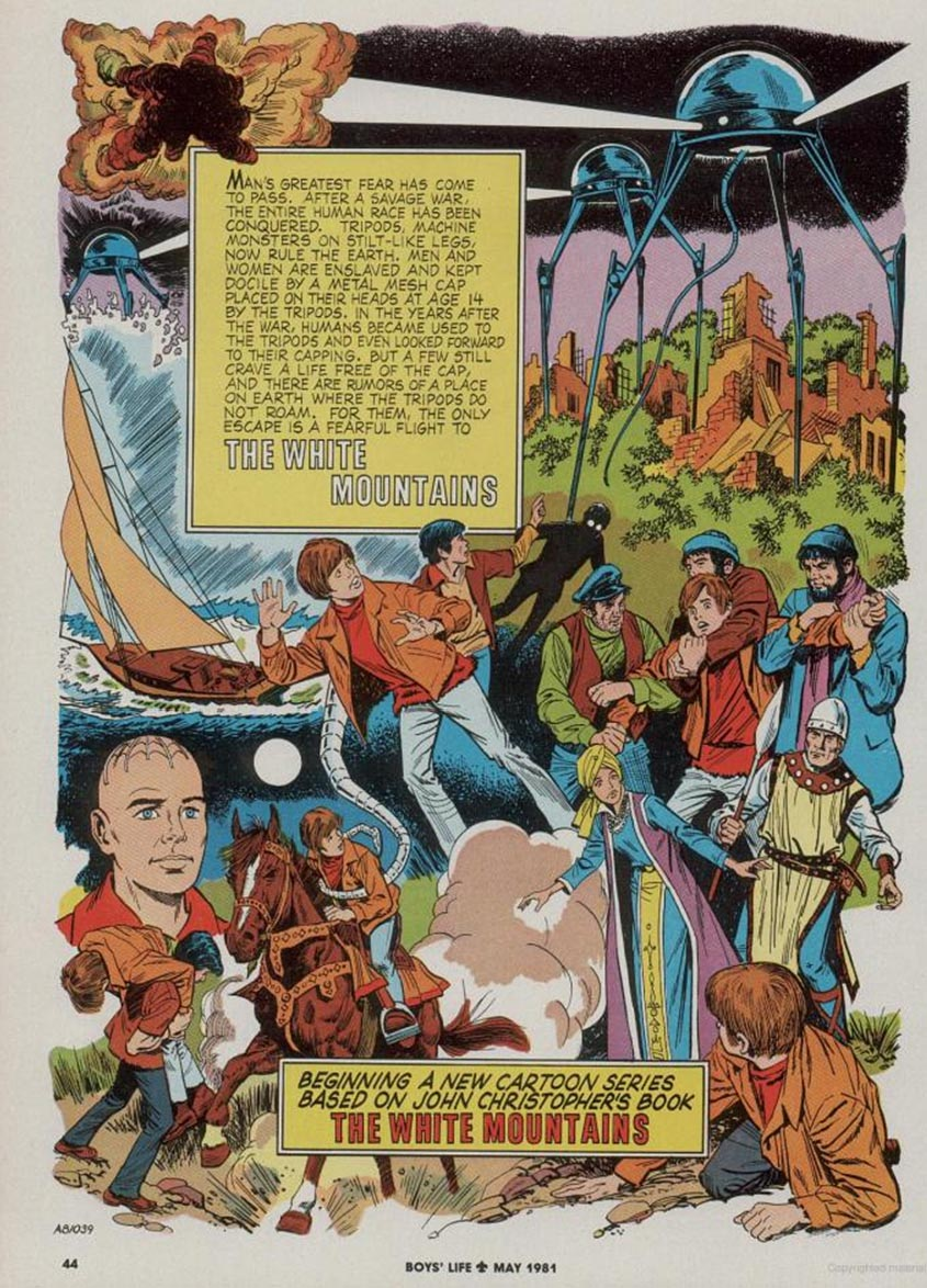 The white mountains comic the tripods wiki fandom for Pool master tv show wiki