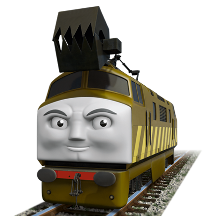 thomas and friends meet diesel 10 train