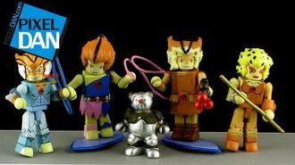 Icon Heroes ThunderCats MiniMates Series 3 Video Review
