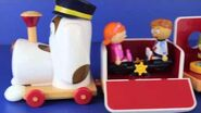 Tickety Toc Train Musical Pufferty Train with Disney Frozen Elsa, Peppa Pig and Sofia The First-2