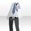 Men's police outfit white