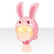 Rabbit head yellow