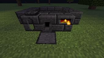 Minecraft smeltery lava tank