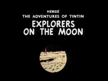 Explorers on the Moon Card