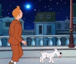 Tintin Shooting Star