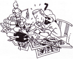 Hergé's Breakdown