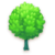 Green tree-questicon