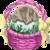 Decoration 1x1 Snowbluff Egg