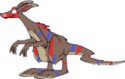 Monster darkboltmonster mythic adult