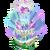 Decoration 2x2 crystal bank heartfountain@2x