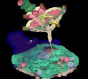 Decoration 2x2 kite hummingbird tn@2x