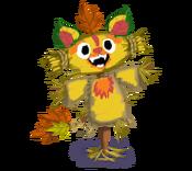 Decoration 1x1 scarecrow fire tn@2x