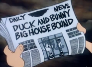 Duck&BunnyBigHouseBoundNewspaper