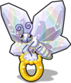 New ring butterfly single