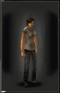 TLSDZ Jeans - Black equipped female