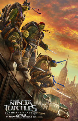 TMNT OOTS Theatrical Poster