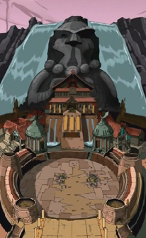The Battle Nexus battle dome