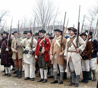 Garrhse-militia muster