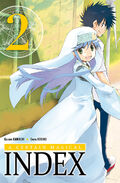 A Certain Magical Index Manga v02 French cover