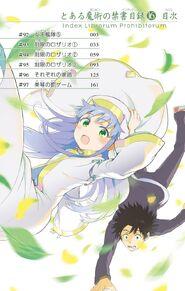 Toaru Majutsu no Index Manga v16 Table of Contents